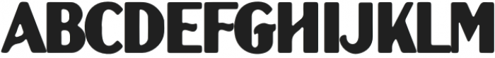 MDCo - Hendricks Rounded otf (400) Font LOWERCASE