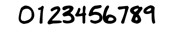 MDBurnette Font OTHER CHARS