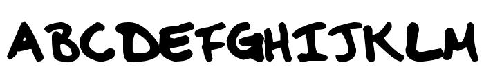 MDBurnette Font LOWERCASE