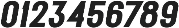 METAFORA Black Expanded Oblique otf (900) Font OTHER CHARS