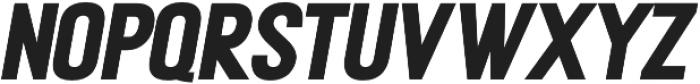 METAFORA Black Expanded Oblique otf (900) Font LOWERCASE