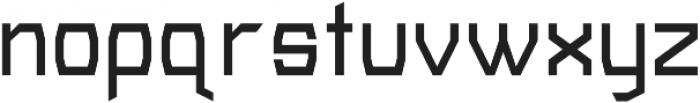 METRIK SANS Medium otf (500) Font LOWERCASE