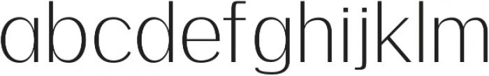 Meadow Light otf (300) Font LOWERCASE