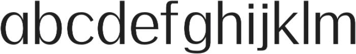 Meadow Regular otf (400) Font LOWERCASE