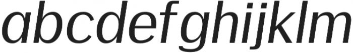 Meadow Semi bold italic otf (600) Font UPPERCASE