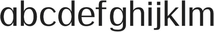 Meadow Semi bold otf (600) Font LOWERCASE