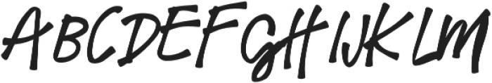 Meadowlark otf (400) Font UPPERCASE