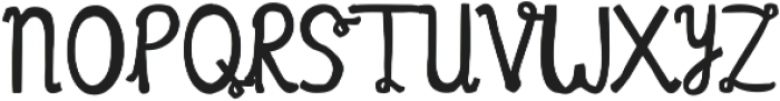 Meander ttf (400) Font UPPERCASE