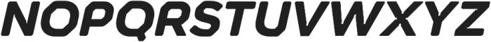 Meccanica Lite Bold Oblique otf (700) Font UPPERCASE