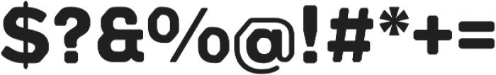 Meccanica Lite Bold otf (700) Font OTHER CHARS