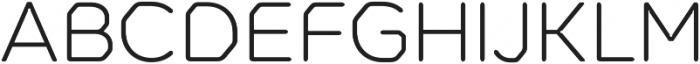 Meccanica Lite Light otf (300) Font UPPERCASE