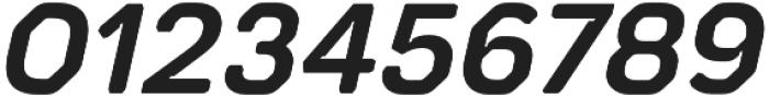 Meccanica Lite SemiBold Oblique otf (600) Font OTHER CHARS
