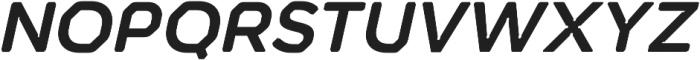Meccanica Lite SemiBold Oblique otf (600) Font UPPERCASE