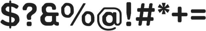 Meccanica Lite SemiBold otf (600) Font OTHER CHARS