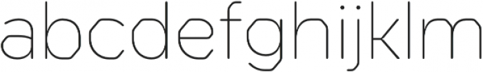 Meccanica Lite Thin otf (100) Font LOWERCASE
