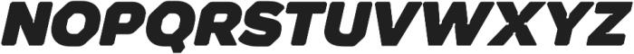 Meccanica Lite Ultra Oblique otf (900) Font UPPERCASE