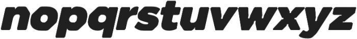 Meccanica Lite Ultra Oblique otf (900) Font LOWERCASE