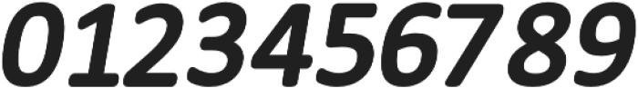 Meddle Bold Italic otf (700) Font OTHER CHARS