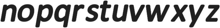 Meddle Bold Italic otf (700) Font LOWERCASE