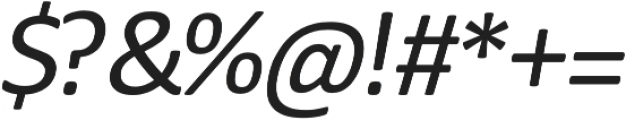 Meddle Italic otf (400) Font OTHER CHARS