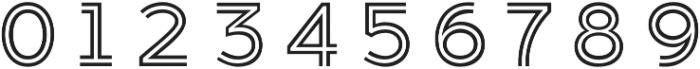 Median Layer Folded otf (400) Font OTHER CHARS