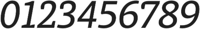 Medium Italic otf (500) Font OTHER CHARS