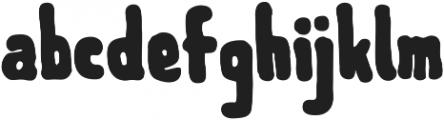 Meep ttf (900) Font LOWERCASE