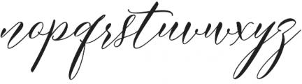 Meetha Script Regular otf (400) Font LOWERCASE