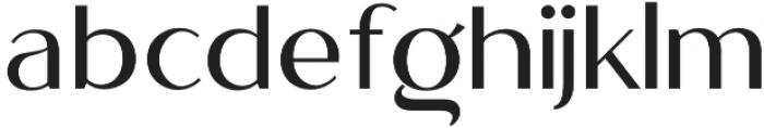 Megant� otf (400) Font LOWERCASE