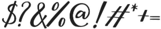 Megattor otf (400) Font OTHER CHARS
