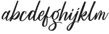 Megattor otf (400) Font LOWERCASE