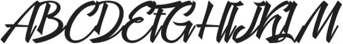 Megawatt otf (400) Font UPPERCASE