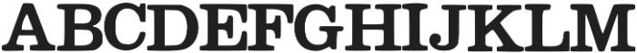 Megeon otf (400) Font UPPERCASE