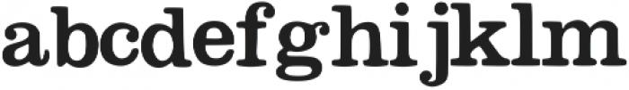 Megeon otf (400) Font LOWERCASE
