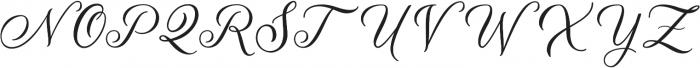 Meilina Fancy ttf (400) Font UPPERCASE