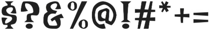 Meisterz Regular otf (400) Font OTHER CHARS