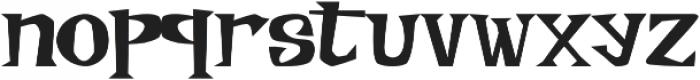 Meisterz Regular otf (400) Font LOWERCASE