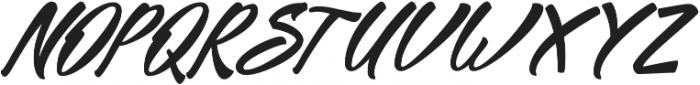Mekar Script ttf (400) Font UPPERCASE