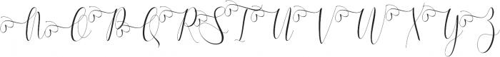 Melamar Swash_1 ttf (400) Font UPPERCASE
