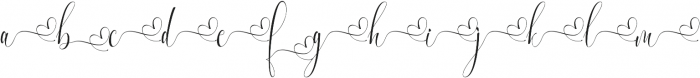 Melamar Swash_1 ttf (400) Font LOWERCASE