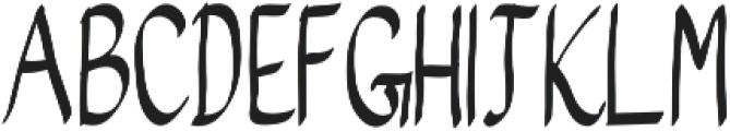 Melampus otf (400) Font UPPERCASE