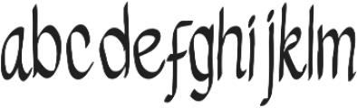 Melampus otf (400) Font LOWERCASE