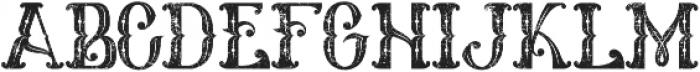 Melanesia Vintage otf (400) Font LOWERCASE