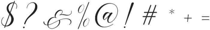 Melanie Script Regular otf (400) Font OTHER CHARS