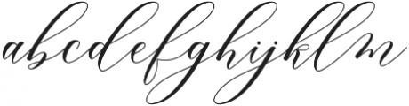 Melanie Script Regular otf (400) Font LOWERCASE