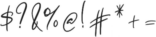 Melanott otf (400) Font OTHER CHARS