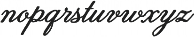 Melany Lane otf (700) Font LOWERCASE
