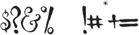 Melissa otf (400) Font OTHER CHARS
