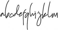 Melitta  jeffry otf (400) Font LOWERCASE