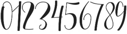 Mellany Alt otf (400) Font OTHER CHARS